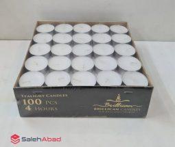 فروش عمده شمع وارمر گرد بسته ۱۰۰ عددی