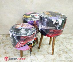 فروش عمده صندلی پاف مبل ۳ سایز