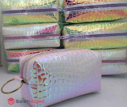 فروش عمده کیف لوازم آرایشی هولوگرامی