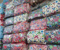 فروش عمده کیف لوازم آرایشی طرح گلدار