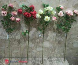 فروش عمده گل رز مصنوعی ۶ شاخه