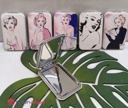فروش عمده آینه کیفی فلزی دخترانه