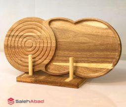 فروش عمده تخته سرو چوبی دو تکه