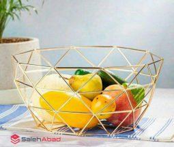 فروش عمده سبد میوه فلزی مشبک