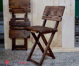 فروش عمده صندلی تاشو چوبی مسافرتی