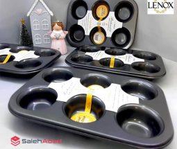 فروش عمده قالب کیک مافین تفلون ۶ خانه