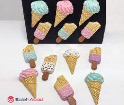 فروش عمده مگنت رو یخچالی طرح بستنی