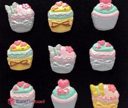 فروش عمده مگنت یخچالی طرح کاپ کیک