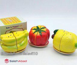 فروش عمده نمکدان سرامیکی طرح میوه