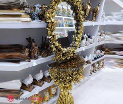 فروش عمده ست آینه و کنسول طرح گل رز