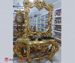 فروش عمده ست آینه و کنسول طلایی