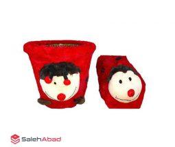 فروش عمده سطل و جا دستمال عروسکی