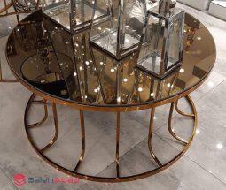 فروش عمده میز جلو مبلی آینه ای