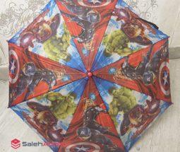 فروش عمده چتر بارانی کودک کارتونی