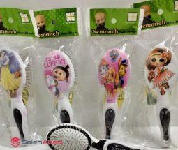 فروش عمده برس موی کودک طرح کارتونی