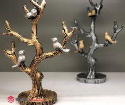 فروش عمده جاجواهری پلی استر طرح درخت