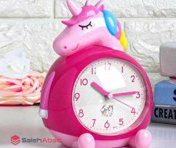 فروش عمده ساعت فانتزی رومیزی یونیکورن