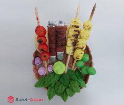 فروش عمده مگنت خمیری طرح سینی کباب