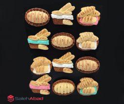 فروش عمده مگنت رزینی طرح نان