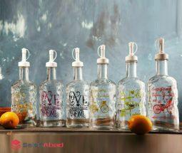 فروش عمده بطری آبلیمو و آبغوره شیشه ای