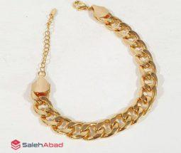 فروش عمده دستبند زنجیری زنانه طرح طلا