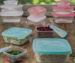 فروش عمده ست ظروف داخل یخچال فریزر