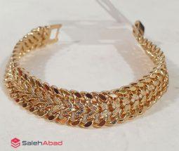 فروش عمده دستبند زنانه ژوپینگ طلایی