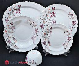 فروش عمده سرویس ۲۵ پارچه گلدار آیروپال