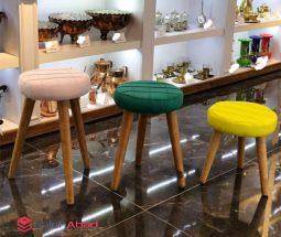 فروش عمده صندلی پاف لمسه کنار مبلی
