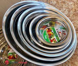 فروش عمده سرویس آبکش استیل ۶ تایی
