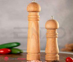 فروش عمده فلفل ساب دستی چوبی انزو