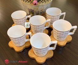 فروش عمده سرویس چای خوری ۱۲ پارچه بامبو