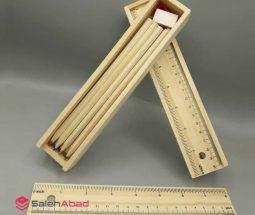 فروش عمده مداد رنگی ۱۲ رنگ چوبی
