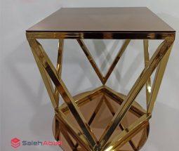 فروش عمده میز عسلی فلزی مدرن
