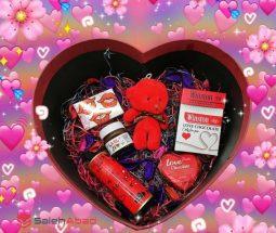 فروش عمده باکس هدیه ولنتاین قلبی