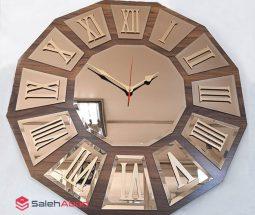 فروش عمده ساعت آینه ای طرح اعداد یونانی