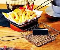 فروش عمده سبد سرو سیب زمینی مربعی