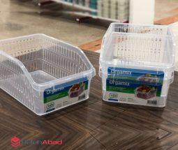فروش عمده سبد نظم دهنده یخچال شفاف
