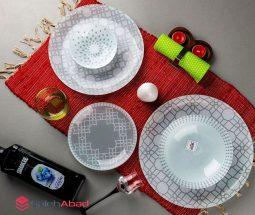 فروش عمده سرویس غذا خوری ۲۵ پارچه اوپال