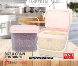 فروش عمده سطل برنج پلاستیکی دسته دار