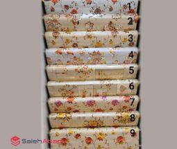 فروش عمده سفره رومیزی ۲۰ متری گلدار