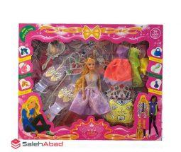 فروش عمده عروسک دخترانه باربی با وسایل