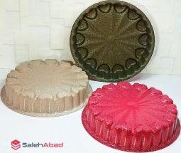 فروش عمده قالب کیک گرد طرح ترک