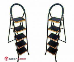 فروش عمده نردبان تاشو خانگی مدل ۵ پله