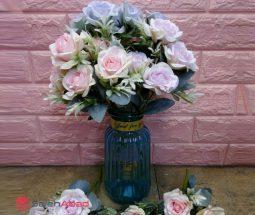 فروش عمده گل رز مصنوعی بوته ای