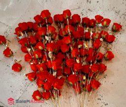 فروش عمده گل رز مصنوعی شاخه ای