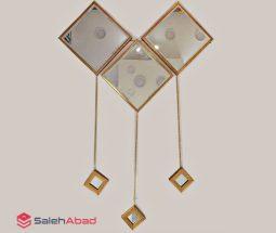 فروش عمده ست آینه لوزی ۳ تکه آویزدار