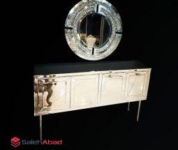 فروش عمده آینه دیواری و کنسول ۴ درب