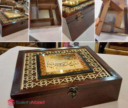 فروش عمده جعبه جواهرات چوبی طرح دار