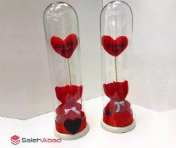 فروش عمده عروسک خرس قرمز شیشه ای